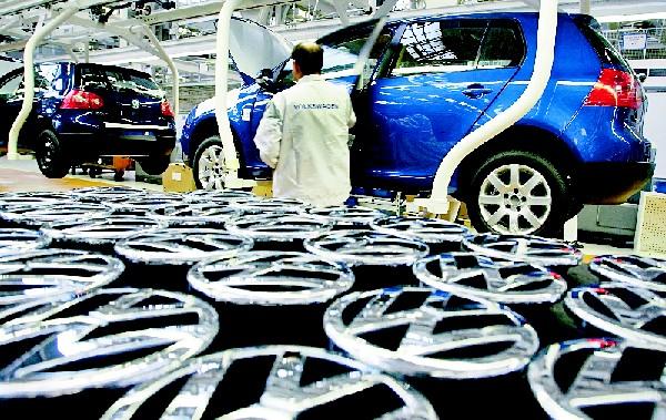 Inversionistas se alejan del fabricante alemán Volkswagen. (Hemeroteca PL)