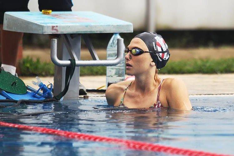 Gisela Morales analiza el momento que vive la natación nacional y los Juegos Olímpicos de Río 2016. (Foto Prensa Libre)