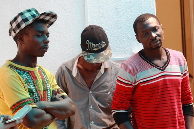 Un grupo de 41 migrantes de varios países africanos fue detenido temporalmente por la Policía Nacional Civil, el pasado 29 de septiembre. (Foto: Hemeroteca PL)
