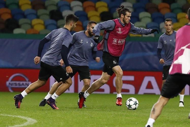El gales Gareth Bale trabaja para recuperarse de una lesión en los tendones peroneos del tobillo derecho. (Tomada de internet)