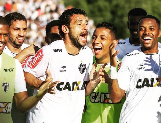Los jugadores del Atlético Mineiro esperan festejar en la Copa Libertadores. (Foto Prensa Libre: Twitter Atlético Mineiro)