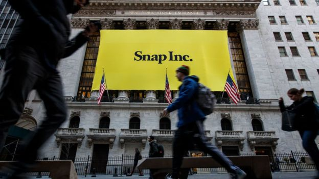 Snap Inc presenta sus resultados este miércoles.GETTY IMAGES