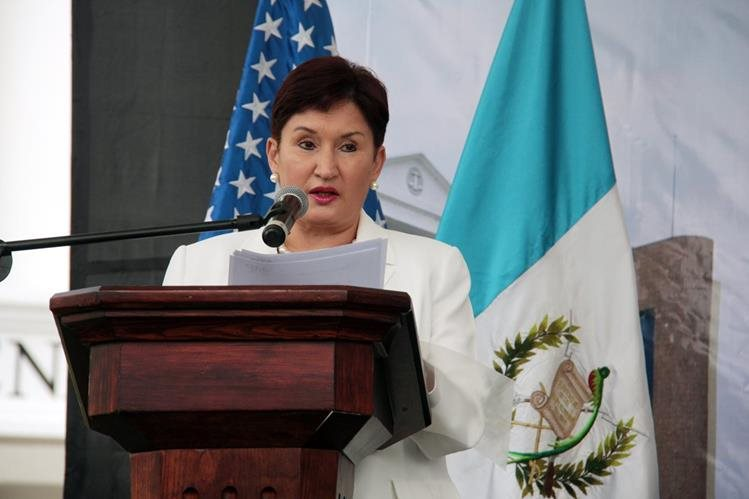 Thelma Aldana, fiscal General, participa en la inauguración del Juzgado de Turno en Xela. (Foto Prensa Libre: Carlos Ventura)