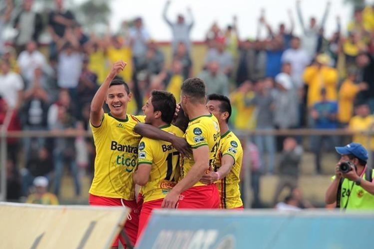 Marquense llegó a 53 puntos en la tabla acumulada y está a un paso de la salvación. (Foto Prensa Libre: Hemeroteca PL).