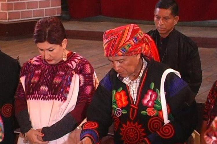 En diciembre del 2016, Tomás Calvo Mateo presidió una actividad en la que participó la fiscal general, Thelma Aldana. (Foto Prensa Libre: Héctor Cordero)
