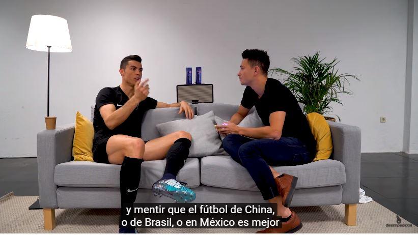 ¿Qué piensa Cristiano Ronaldo del futbol mexicano?