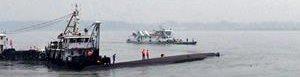 Lugar del naufragio.