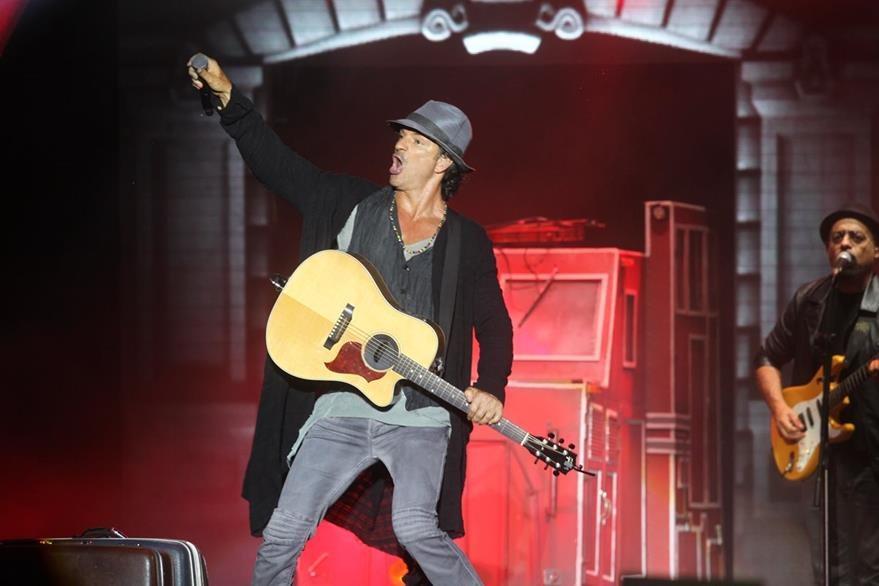 Ricardo se presentó en dos fechas en el Estadio Mateo Flores, en Guatemala. (Foto Prensa Libre: Óscar Rivas)