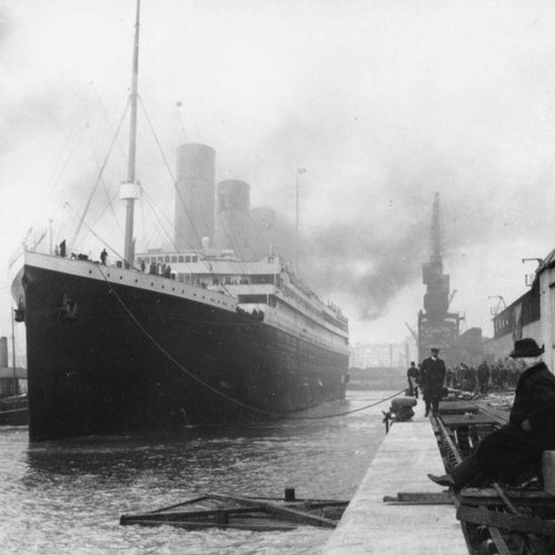 Los diseñadores del Titanic lo tenían por un barco insumergible. EPA