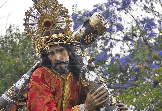 Jesús de la Merced en su procesión del Viernes Santo 2015. (Foto: Néstor Galicia)