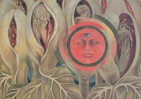 La obra El Sol y la Vida de Frida Kahlo de la Casa Azul de Coyoacán México, estará en exposición en el Jardín Botáncio de Nueva York. (Foto Prensa Libre Agencia EFE).