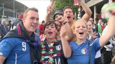 La alegría de los italianos