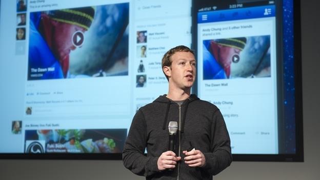 Mark Zuckerberg, jefe de Facebook. (Foto Prensa Libre: AFP)