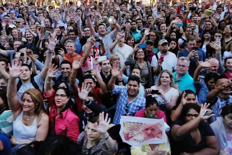 Neoyorquinos abarrotaron las calles de la ciudad. (Foto Presa Libre: AP).