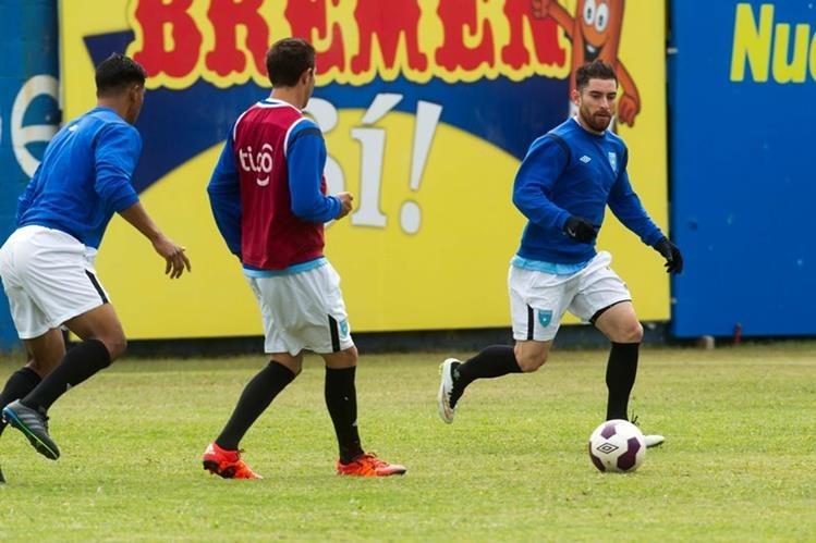 Jean Jonathan Márquez portará el gafete de capitán de la Bicolor frente a Honduras. (Foto Prensa Libre: Norvin Mendoza)