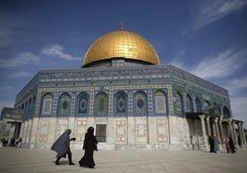 El lugar es sagrado tanto para judíos como para musulmanes.