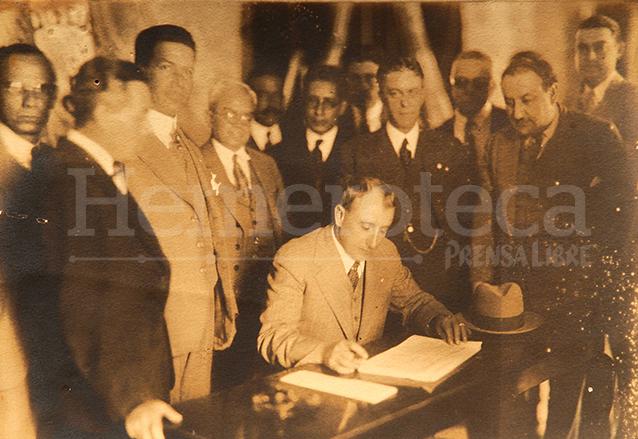 Jorge Ubico gobernó el país durante 14 años consecutivos. (Foto: Hemeroteca PL)