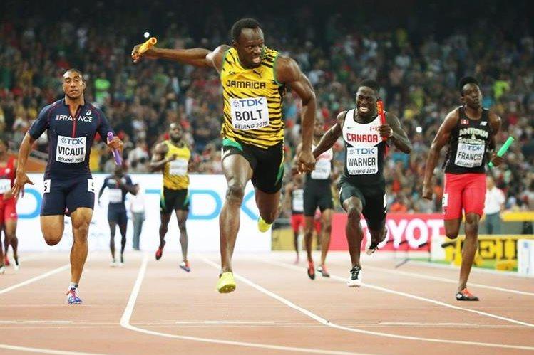 Bolt volvió a brillar en Pekín. (Foto Prensa Libre: AFP)