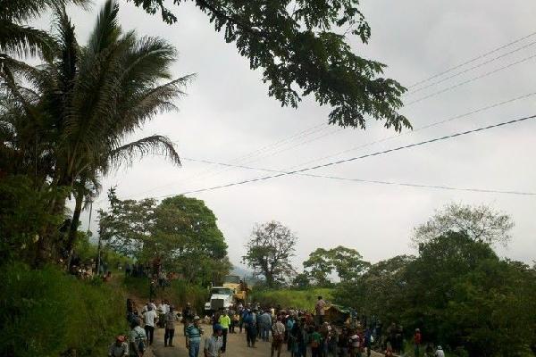 <p>Las protestas afectaron al menos a tres municipios.</p>
