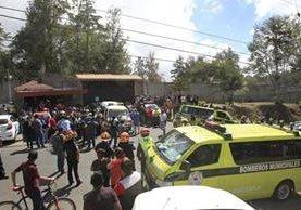 La semana pasada en el Hogar Seguro Virgen de la Asunción ocurrió un incendio que ya cobró la vida de 40 niñas.(Foto Prensa Libre: HemerotecaPL)