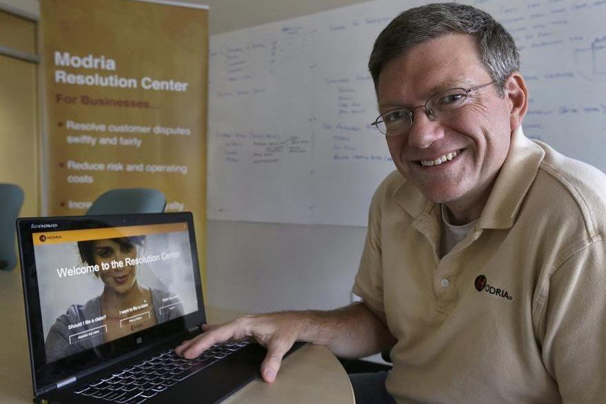 Colin Rule, director de Modria. (Foto Prensa Libre: AP)
