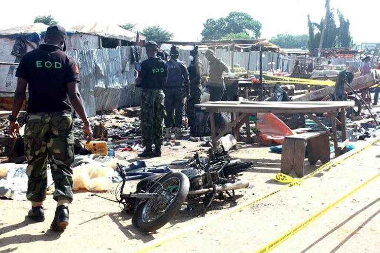 Ilustración. Los extremistas han aumentado sus ataques desde que el presidente Muhammadu Buhari ocupó el puesto en mayo. (Foto Prensa Libre: EFE).