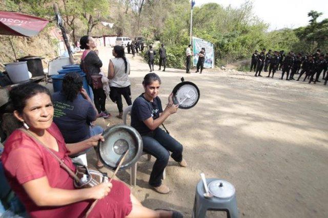 Pobladores de San José del Golfo piden la suspensión del proyecto minero Derivada VII. (Foto Prensa Libre: Hemeroteca PL)
