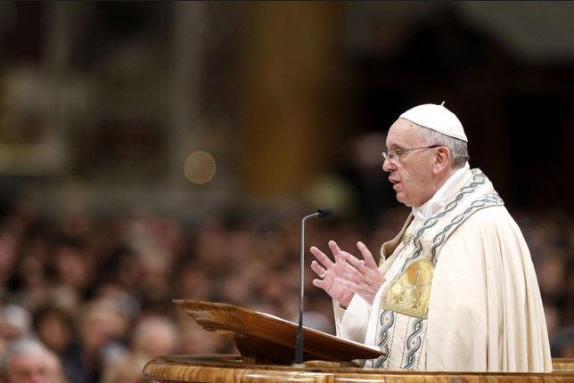 """El papa Francisco dijo sentirse """"preocupado"""" por el ambiente de confrontación que se vive en Tierra Santa. (Foto Prensa Libre: Hemeroteca PL)."""