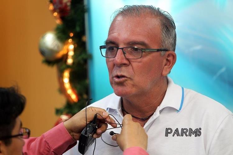 Ariel Sena, durante La Entrevista de Tododeportes. (Foto Prensa Libre: Edwin Fajardo)