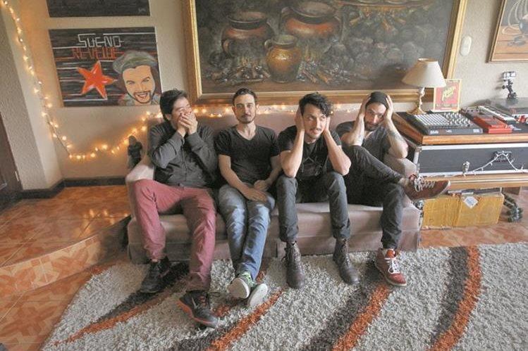 Los músicos se encuentran en la etapa de grabación de su nuevo álbum de estudio. (Foto Prensa Libre: Keneth Cruz)