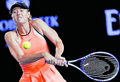Sharapova está participando de varios eventos y esto molesta a otros tenistas. (Foto Prensa Libre: Hemeroteca PL)