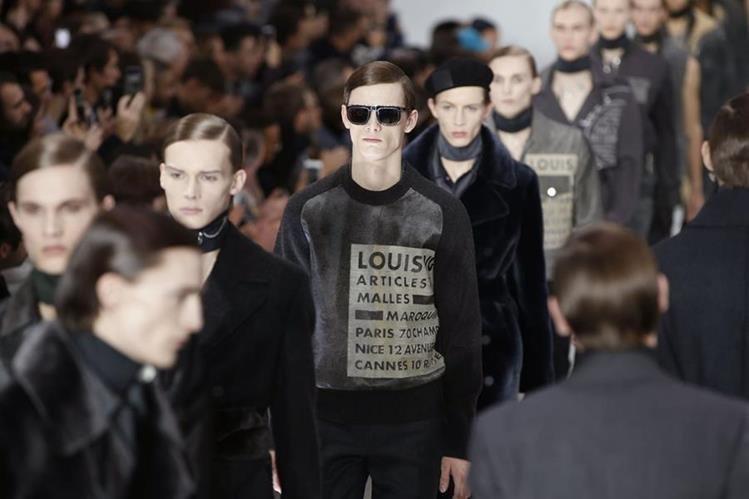 Louis Vuitton propuso actualizar el estilo de principios de siglo XX con la funcionalidad del XXI en prendas reversibles.