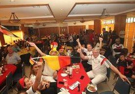 La fiesta de los alemanes en Guatemala.