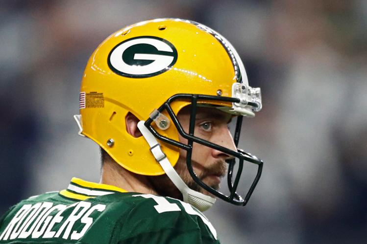 Aaron Rodgers de Green Bay es una de las sensaciones por llegar al Súper Tazón de la NFL. (Foto Prensa Libre: EFE)