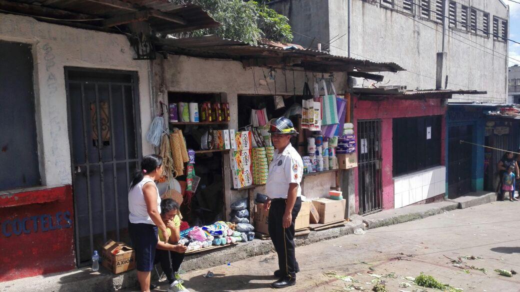 En Jocotales zona 6 en los últimos días murieron cinco comerciantes. (Foto Prensa Libre: CBV)