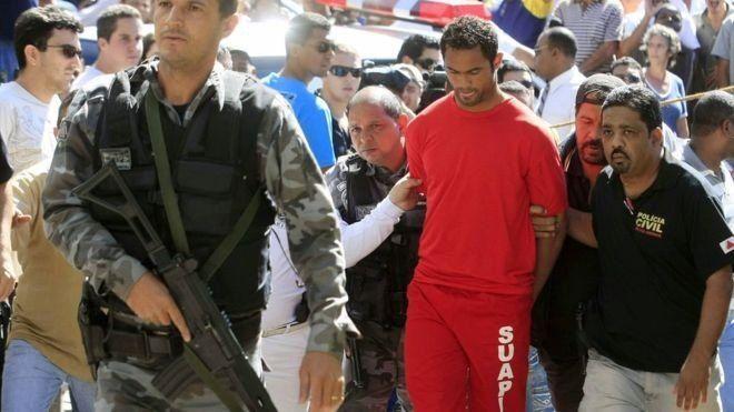Fernandes presentó un recurso que todavía no se ha resuelto contra la sentencia que recibió por el asesinato de Samudio. (AFP)