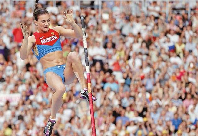 Yelena Isimbayeva deslumbró y ganó todas la especialidades con la pértiga desde sus comienzos. (Foto: AS Color)