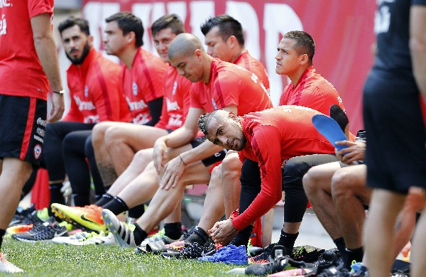 La selección de Chile espera retener el título de campeón de América. (Foto Prensa Libre: EFE)