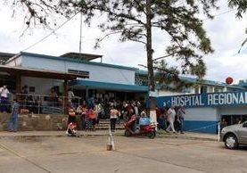 La nueva fiscalía del MP funcionará en el Hospital Regional de Cuilapa, Santa Rosa.(Foto Prensa Libre: Hugo Oliva)