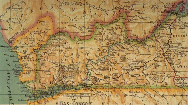 El Reino del Congo estaba en la costa Atlántica. WIKIMEDIA COMMONS