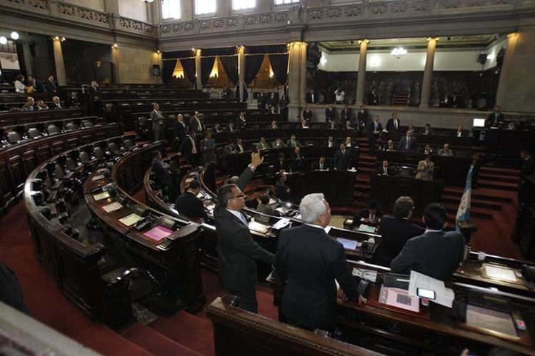 Serán electos 158 personas para ocupar una curul en el Congreso. (Foto Prensa Libre: Hemeroteca PL)