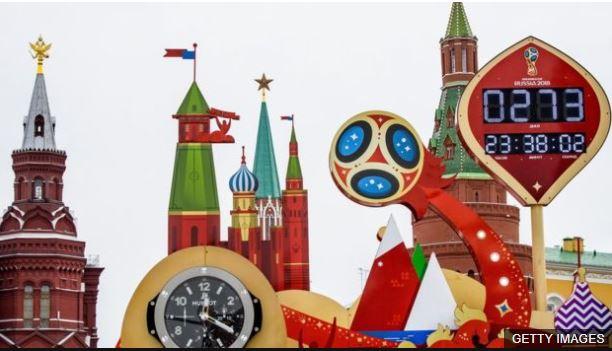En Moscú se lleva la cuenta regresiva al inicio del torneo el próximo 14 de junio.