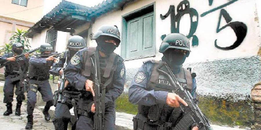 La Fuerza Trinacional Antipandillas se encargara del combate de estructuras delictivas en Honduras, Guatemala y El Salvador. (Foto Prensa Libre: Hemeroteca PL)