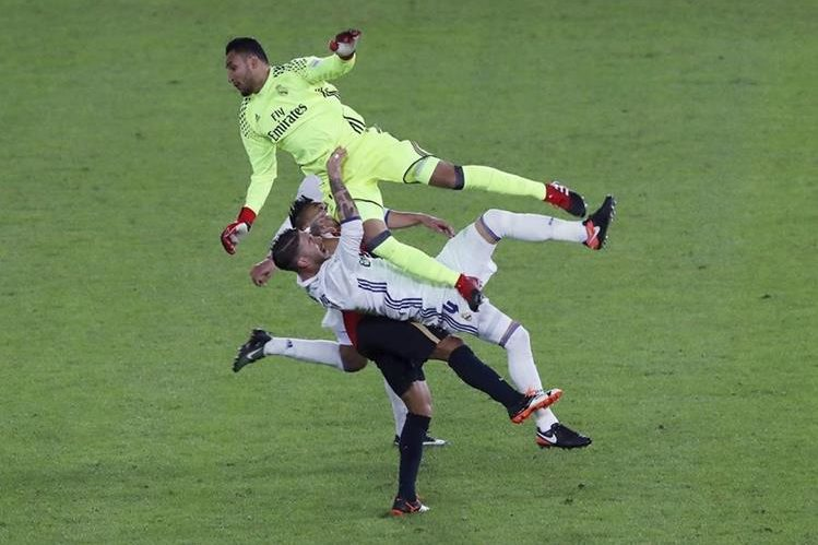 Keylor Navas, guardameta del Real Madrid. (Foto Prensa Libre: Hemeroteca PL)