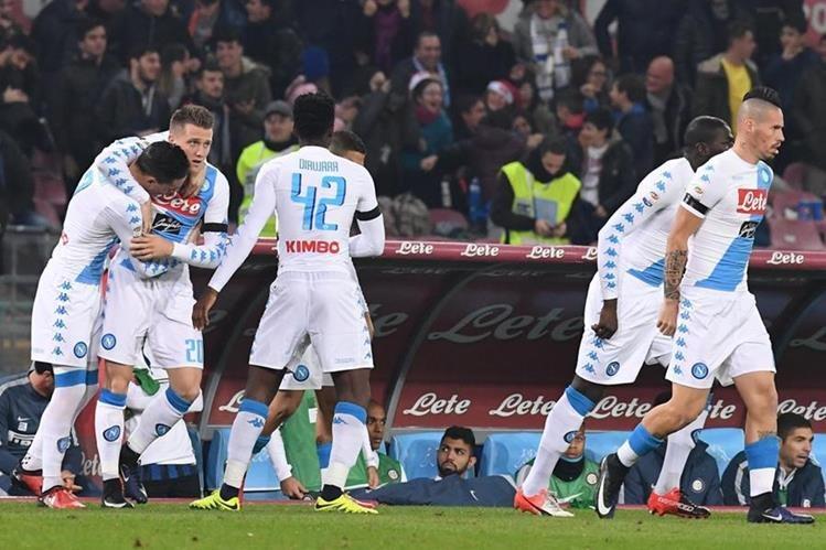Napoli madrugó y aplastó a Inter
