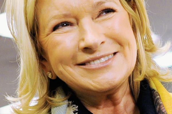 Martha Stewart, empresaria estadounidense y productora de programas de televisión. (Foto Prensa Libre: AFP)