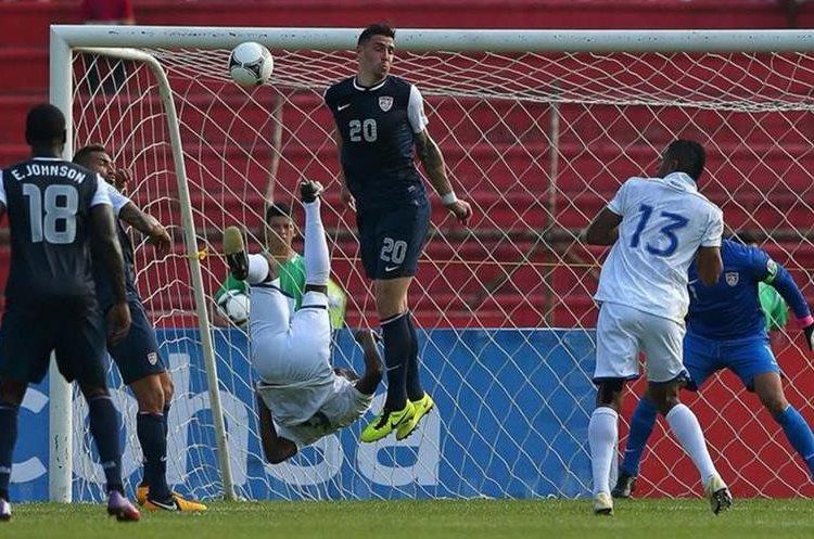 La chilena que García anotó frente a Estados Unidos en la eliminatoria a Brasil 2014 es una de las más recordadas