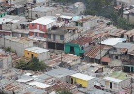La zona 18 es una de las áreas más afectadas por la presencia de pandillas. (Foto Prensa Libre: Hemeroteca PL)