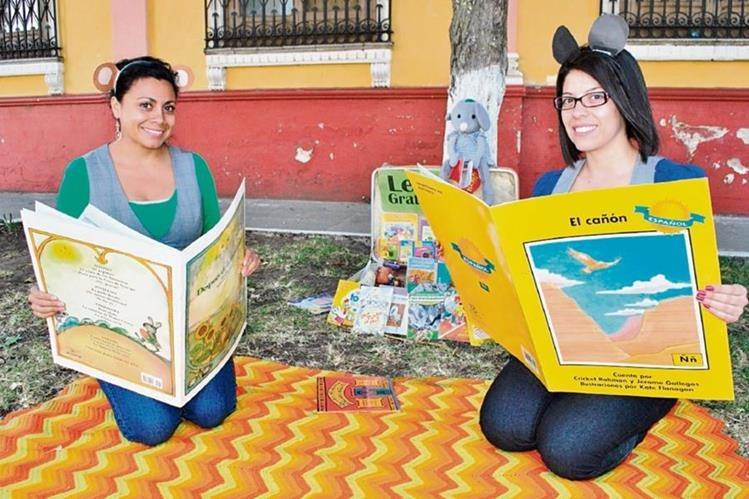 Las artistas Delmy Felipe y Karen Fernández, de La Valija y La Cobija, participarán con narraciones y una biblioteca en el encuentro.