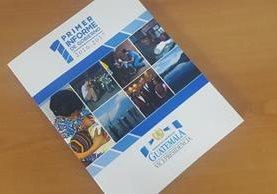 Portada del primer informe anual de la Vicepresidencia de la República. (Foto Prensa Libre: HemerotecaPL)